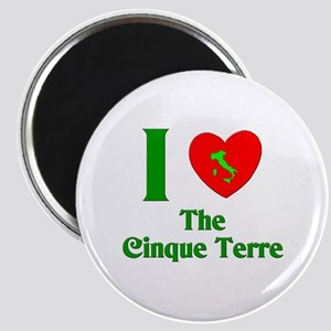 I Love the Cinque Terre Italy Magnet