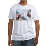 Creation & Basset Fitted T-Shirt