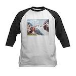 Creation & Basset Kids Baseball Jersey
