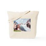 Creation & Basset Tote Bag