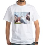 Creation & Basset White T-Shirt
