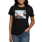 Creation & Basset Women's Dark T-Shirt