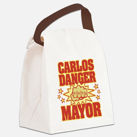 Carlos Danger for Mayor Canvas Lunch Bag