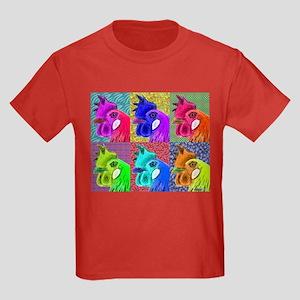Hens Gone Wild! Kids Dark T-Shirt
