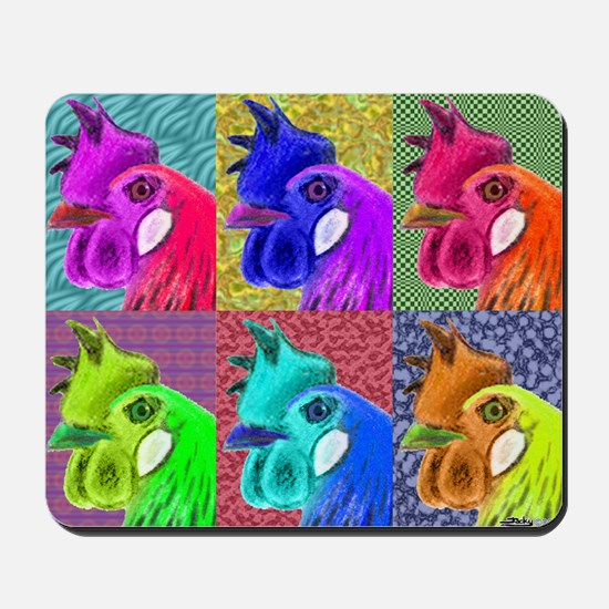 Hens Gone Wild! Mousepad