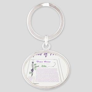 True Vine Promo Oval Keychain