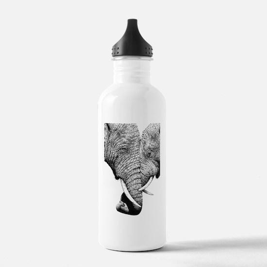 African Elephants iPad Water Bottle