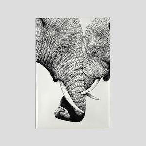African Elephants iPad Mini Rectangle Magnet