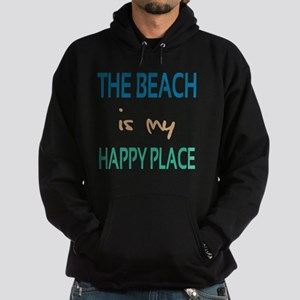 The Beach Is My Happy Place Hoodie (dark)