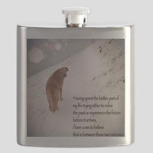 Peace Dog Flask