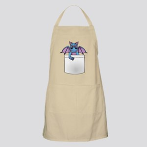 Cute Baby Dragon in Pocket Apron