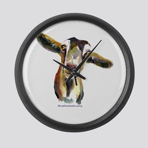 Goat Large Wall Clock