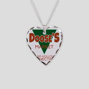 Dooses Market Gilmore Logo Necklace Heart Charm