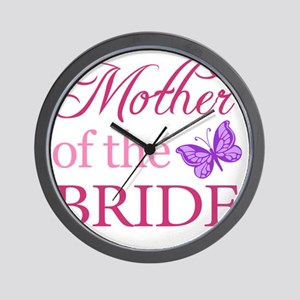 Mother Of The Bride (Butterfly) Wall Clock