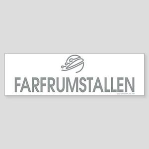 FARFRUMSTALLEN Sticker (Bumper)