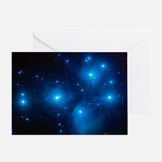 Pleiades Greeting Card