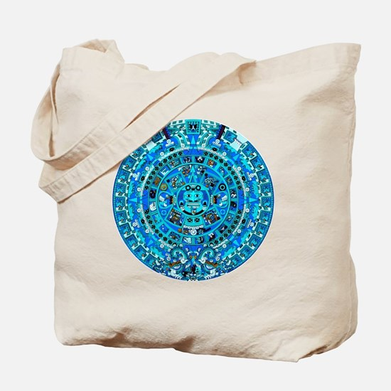 Ancient Mayan Calendar Tote Bag
