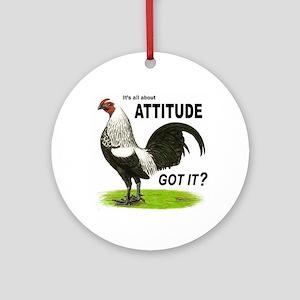 Got Attitude? Ornament (Round)