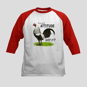 Got Attitude? Kids Baseball Jersey