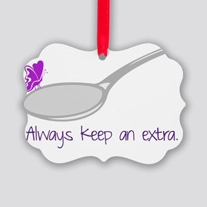 Extra Spoon Picture Ornament
