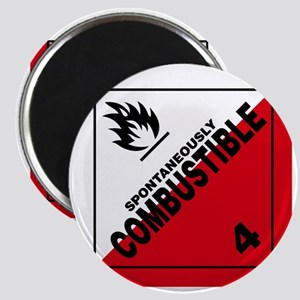 ADR Sticker - 4 Spontaneously Combustible Magnet