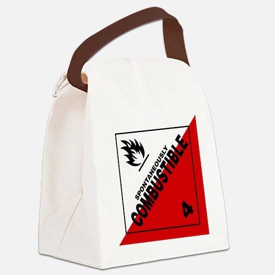 ADR Sticker - 4 Spontaneously Com Canvas Lunch Bag