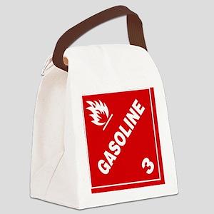 ADR Sticker - 3 Gasoline Canvas Lunch Bag
