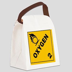 ADR Sticker - 2 Oxygen Canvas Lunch Bag