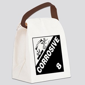 ADR Sticker - 8 Corrosive Canvas Lunch Bag