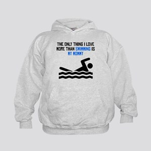 Swimming Mommy Hoodie