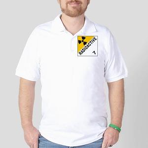 ADR Sticker - 7 Radioactive Golf Shirt