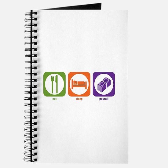 Eat Sleep Payroll Journal