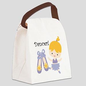 Blond Girl Dancer Canvas Lunch Bag