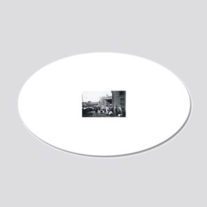 Gallows 20x12 Oval Wall Decal