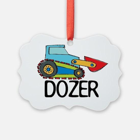 Dozer Ornament