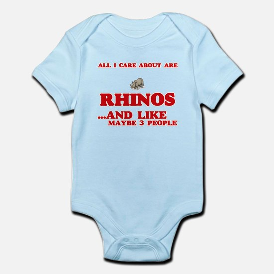 All I care about are Rhinos Body Suit