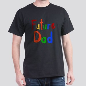Primary Colors Future Dad Dark T-Shirt
