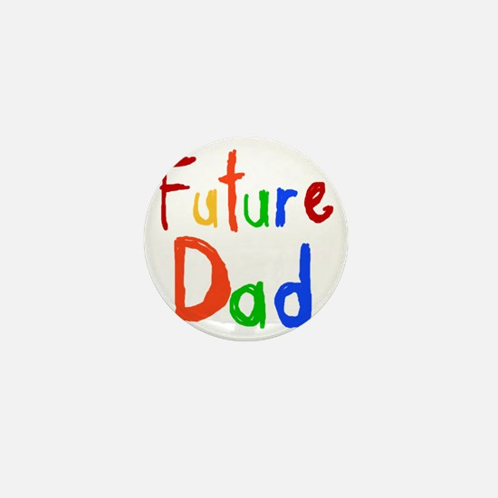 Primary Colors Future Dad Mini Button