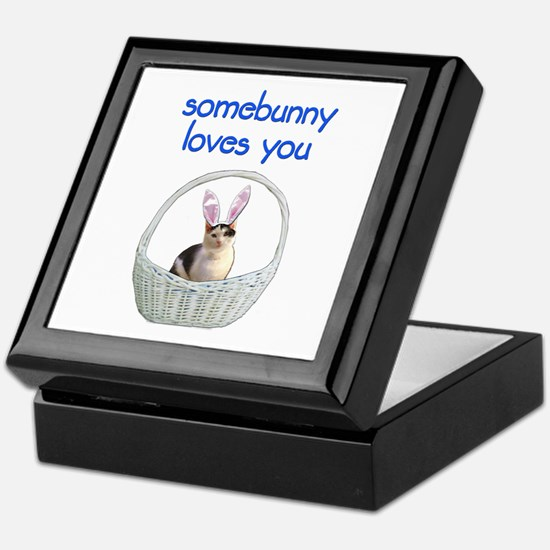 Somebunny loves you Keepsake Box