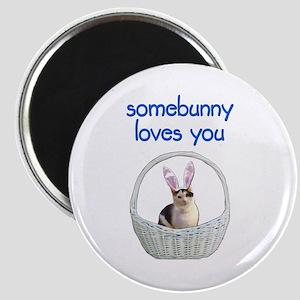 Somebunny loves you Magnet