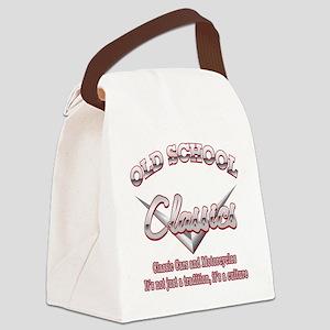 Old School Classics Canvas Lunch Bag