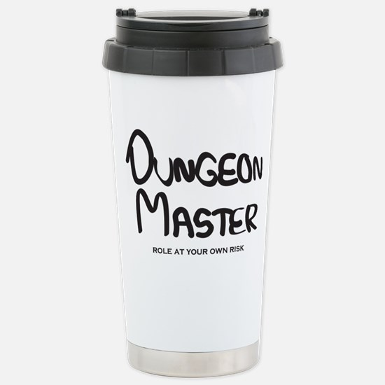 Dungeon Master - Role A Stainless Steel Travel Mug