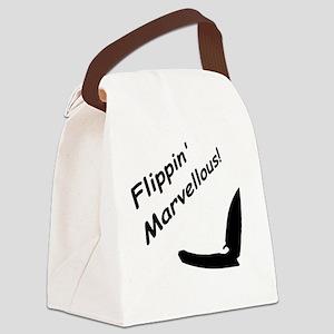 Flippin Marvellous! Canvas Lunch Bag