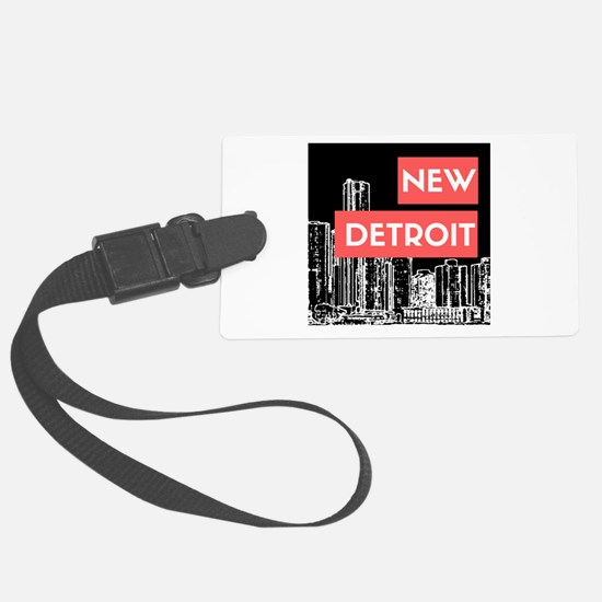 Unique Downtown Luggage Tag