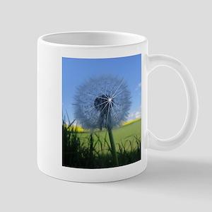Shiny dandelion Mugs