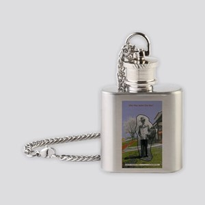 Jackies Front Cover Flask Necklace