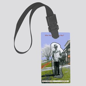 Jackies Front Cover Large Luggage Tag