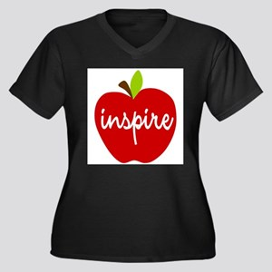 Inspire Apple Plus Size T-Shirt