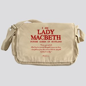 Lady Macbeth (red) Messenger Bag