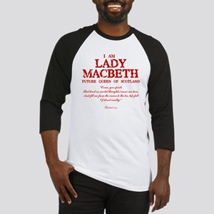 Lady Macbeth (red) Baseball Jersey